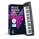 MAGIX Music Maker – 2018 Control Edition – USB-Keyboard und Musikprogramm Music Maker Premium Edition