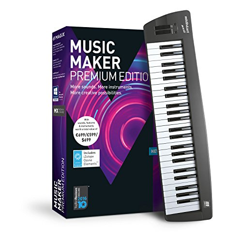 Studio Fl 7 (MAGIX Music Maker – 2018 Control Edition – USB-Keyboard und Musikprogramm Music Maker Premium Edition)