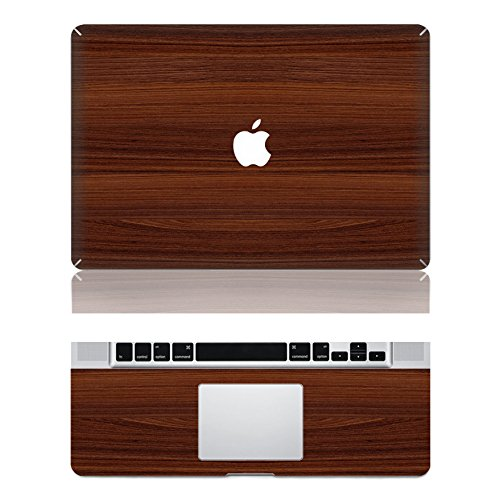 "Preisvergleich Produktbild decalshut Holz Muster Aufkleber Abnehmbare Schützende Haut Aufkleber für Apple Macbook Aufkleber, wood 9, MacBook Air 13.3"" inch (A1369/A1466)"
