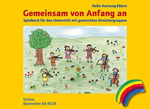 Gemeinsam von Anfang an. Spielbuch, Ausgabe für Violine. Spielpartitur(en)