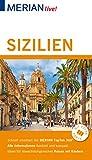 MERIAN live! Reiseführer Sizilien: Mit Extra-Karte zum Herausnehmen - Ralf Nestmeyer