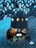 Twinkle Twinkle Special Light Up - Birthday Card - hedgehog! TT005