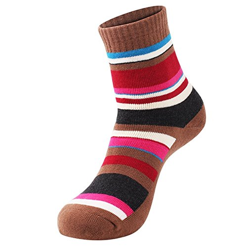 51odyIm0zXL. SS500  - 3 Pairs Men Women Running Hiking Socks - No Blister Terry Cushion, Breathable, Warm, Moisture Wicking, Arch Support, for Outdoor Sports Walking Trekking Cycling Camping Golf Gym, Unisex UK Size 3-7