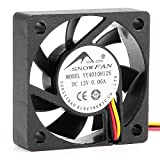 uxcell 40mm Case Fan Silent Cooling Fan 4800 RPM for Computer Cases