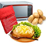 Generic 5pcs/lot Red Potato Bag Microwav...