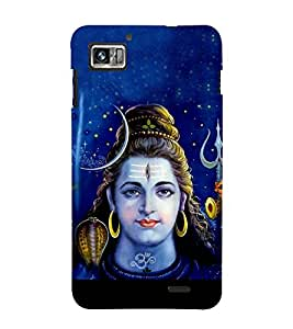Bhagvan Shankar 3D Hard Polycarbonate Designer Back Case Cover for Lenovo K860 :: Lenovo IdeaPhone K860
