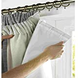"rejuvopedic SRC 66"" width x 72"" drop, Blackout Thermal Curtain Lining ***Now Includes"