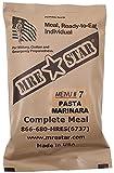 MRE Star Ready-to-Eat Menü: 7 Pasta w. Marinara S.