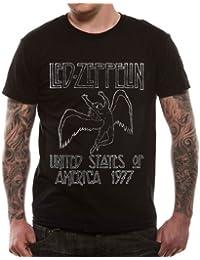 Loud Led Zeppelin USA `77 Men's T-Shirt