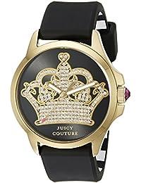 5404d2908a7 Juicy Couture Women s 1901142 Jetsetter Analog Display Quartz Black Watch