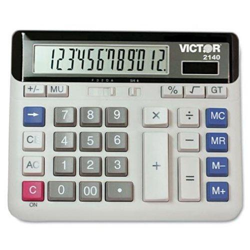 Victor 2140 2140 Desktop Business Calculator, 12-Digit LCD by Victor