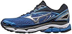 Mizuno Men's Wave Inspire 13 Running Shoes, Blue (Strong Bluesilverblack), 7 Uk 40 12 Eu