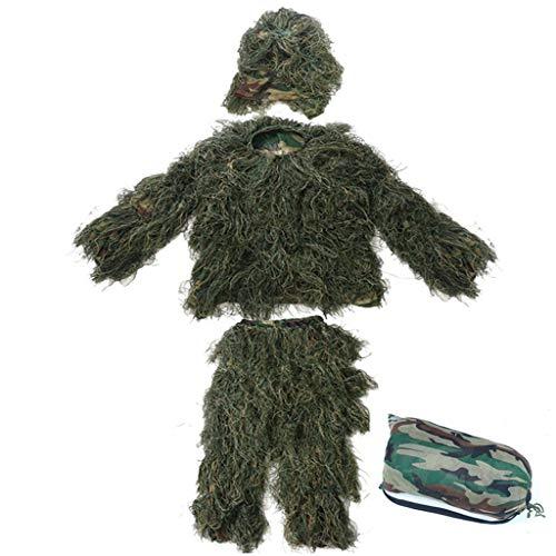 Jedi Einfache Kostüm - Polar Snow Geely Kostüm Camouflage Uniform Jedi Survival, Huhn Essen, echte Erwachsene Kinder, Wüste Dschungel (Color : B, Size : Adult)