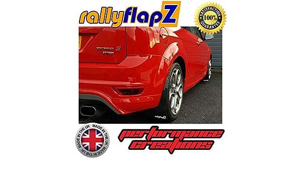 PVC RFFST225-BLK-PVC rallyflapZ Schmutzf/änger-Set f/ür vorne und hinten Schwarz 4 mm