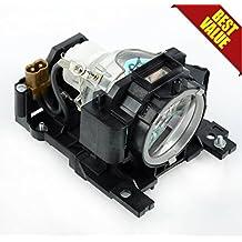 DT00891 Lámpara de repuesto del proyector, conveniente para HITACHI CP-A100 ED-A100 ED-A110 CP-A101 CP-A100 CP-A100J CP-A101 ED-A100 ED-A100J ED-A110 ED-A110J HCP-A8 Proyectores