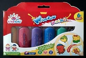 Magi wap window paint fenstermalfarbe 6 x 22 ml