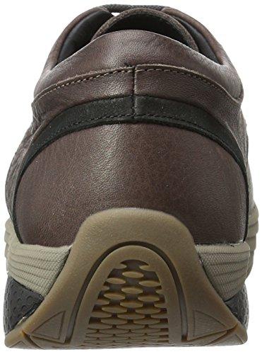 MBT Jelani Chill Ii, Sneaker a Collo Basso Uomo Marrone (Coffe Bean/Black)