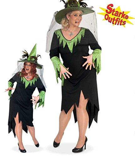 Kostüm Übergröße Frauen Halloween - Damen-Kostüm