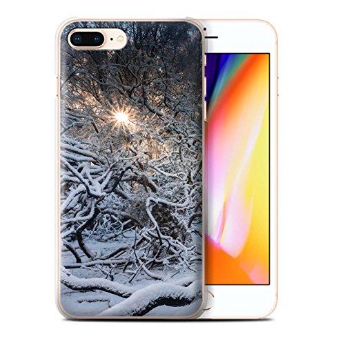 Stuff4 Hülle / Case für Apple iPhone 8 Plus / Pack 7pcs / Winter Saison Kollektion Sonnenstrahlen
