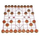 Larcele Holz Chinesisches Schach-Brettspiel MZXQ-01