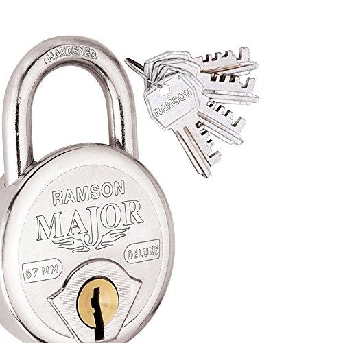 RAMSON Major Deluxe Steel Double Locking 8 Lever Lock With...