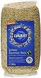 Davert Bio Basmati Reis, vollkorn, 500 g