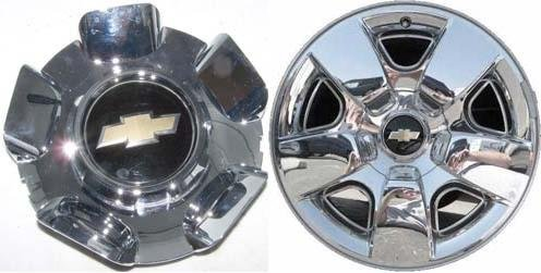 20 OEM CHEVY 2009-2013 SUBURBAN TAHOE SILVERADO WHEEL CENTER CAP HUBCAP 5417 #9597345 by Chevrolet