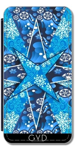 Coque pour Iphone 6 (4,7 '') - Christmas Star by WonderfulDreamPicture Simili-Cuir