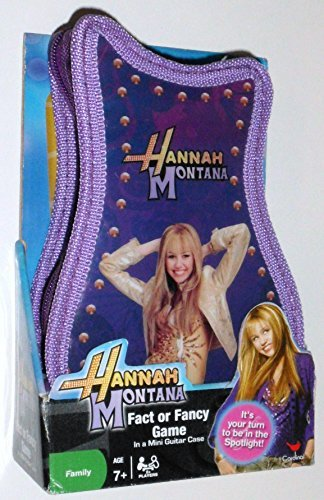 American Clocks Hannah Montana Fact or Fancy Game