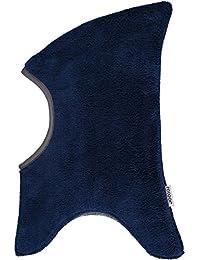 Racoon Baby Jungen Mütze Halfdan Teddyfleecemütze Blau (Medieval Blue Med), S (Herstellergröße: 0-2Y)