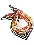 Prettystern Damen Seide Bandana Gustav Klimt Seiden-Tuch Halstuch Kopftuch Impressionismus Kunstdrucke P844 die Erwartung