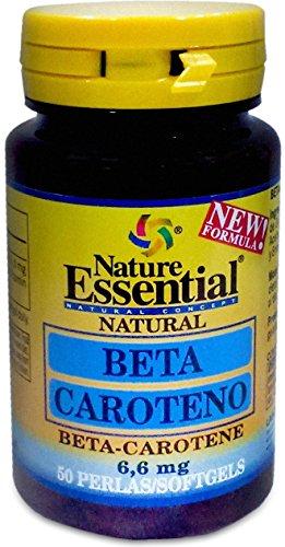 Nature Essential Beta-Caroteno - 50 Cápsulas