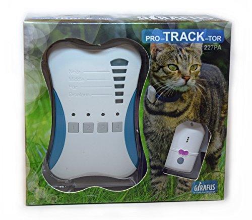 Rastreador de Mascotas Mini Girafus® Pro-track-tor Localizador con ondas de radio Anti-Pérdida...