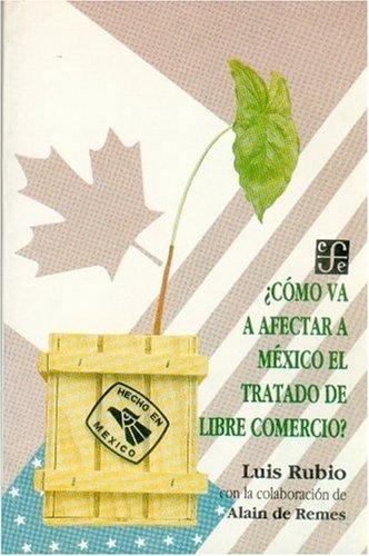 Descargar Libro Como Va Afectar a Mexico El Tratado de Libre Comercio? (Coleccion Popular) de Luis Rubio Freidberg