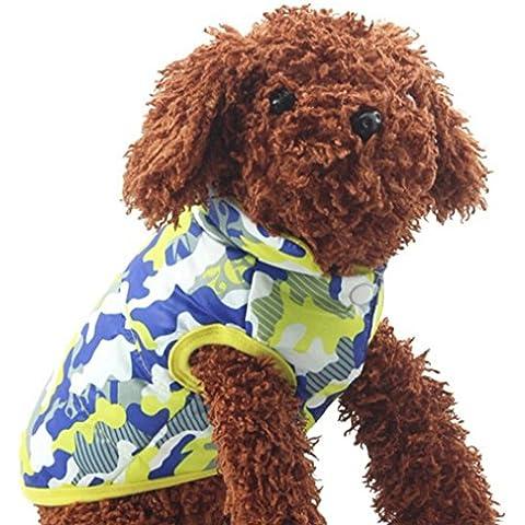 Tongshi Perro gato abrigo chaqueta Pet suministra ropa invierno traje de perrito
