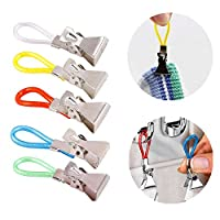 JIZUUU 50 Pcs Kitchen Towels Clip Durable Multipurpose Tea Towel Clips Hanging Clips for Home Cupboards Bathroom Kitchen