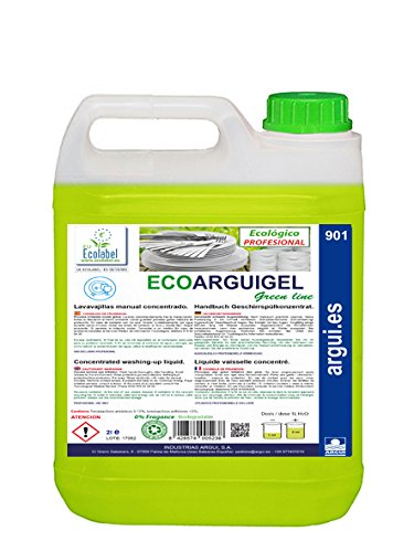 ECOARGUIGEL 2 Litros. LAVAVAJILLAS MANUAL CONCENTRADO