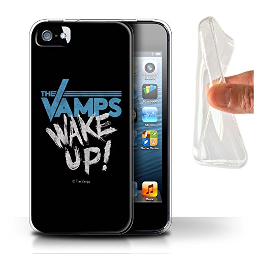 Officiel The Vamps Coque / Etui Gel TPU pour Apple iPhone 5/5S / Pack 6pcs Design / The Vamps Graffiti Logo Groupe Collection Réveillez-Vous!