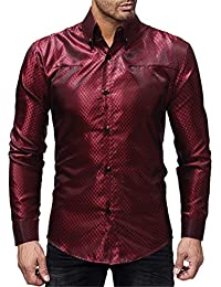 righe bianche Camicie Amazon camicia Camicie nere it casual Ew4vpvqPx
