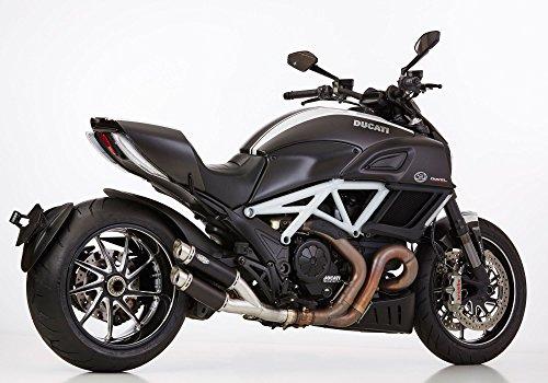 ducati diavel auspuff Shark Auspuffsysteme Track Doppelrohr mit EG/BE Ducati Diavel