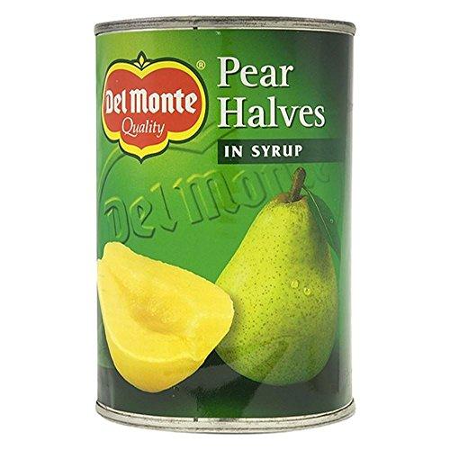 Del Monte poire moitiés au sirop (420g) - Paquet de 6
