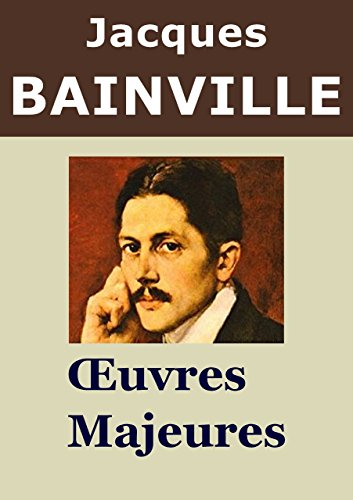 JACQUES BAINVILLE - 9 Oeuvres: Histoire de France, Louis II de Bavire, Bismarck, Histoire de deux peuples, Les Dictateurs, ...