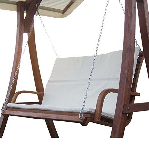 Design Bank aus Lärche für Hollywoodschaukel 2-Sitzer KUREDO (ohne GESTELL!!!)
