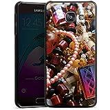 Samsung Galaxy A3 (2016) Housse Étui Protection Coque Bijoux Bijoux Perles