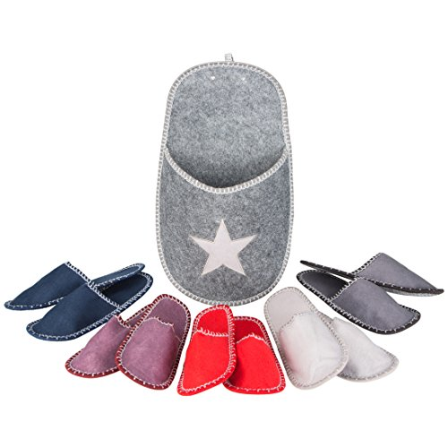 Levivo Guest Slippers Set