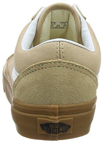 Vans Damen Old Skool Sneakers Beige (Sesame/gum Qa2)