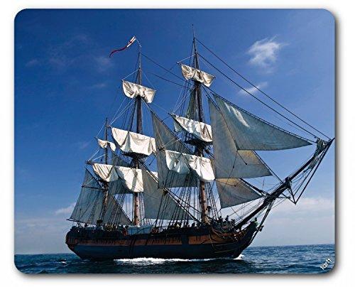 1art1 89134 Piraten - Segelschiff II Mauspad 23 x 19 cm