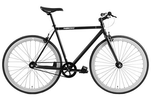 FabricBike Fixed Gear (Matte Black & Grey, L-58cm) -