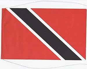 Tischflagge Tischfahne Trinidad und Tobago, ca. 5 x 8 cm