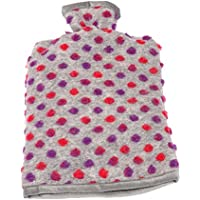 Wärmflaschenbezug Wolle Noppen silber 20/30 cm preisvergleich bei billige-tabletten.eu